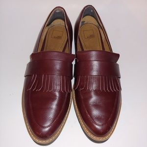 14th and Union Maroon Oxford Loafers